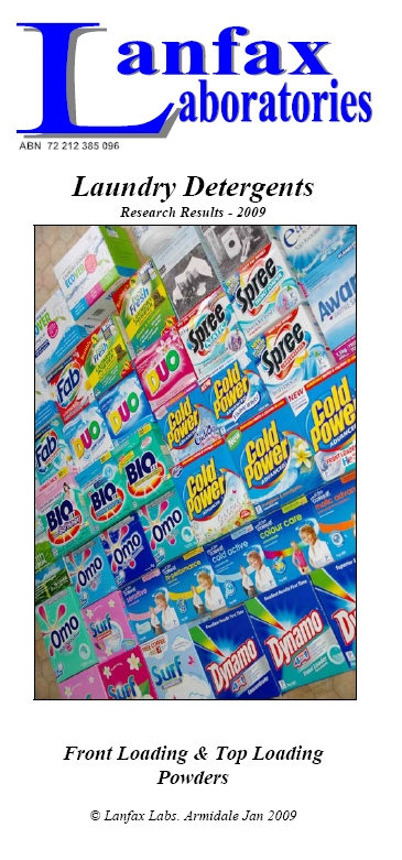 Laundry Products Research